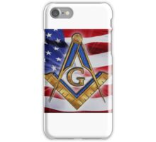 Masonic Flag iPhone Case/Skin