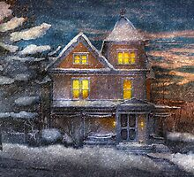 Winter - Clinton, NJ - A Victorian Christmas  by Mike  Savad