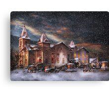 Winter - Clinton, NJ - Silent Night  Canvas Print