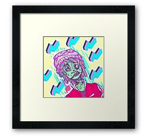 aber-zombie and fitch Framed Print