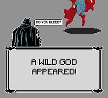 A Wild God Appeared!  by GeekyAlliance