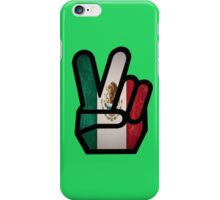 finger mexico iPhone Case/Skin