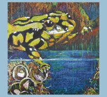 Australian Corroboree Frog in Pastel  Kids Clothes