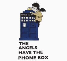 Castiel Has The Phone Box by castialexx