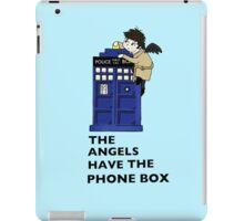 Castiel Has The Phone Box iPad Case/Skin