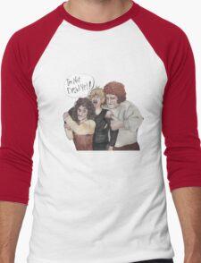 I'm Not Dead Yet Men's Baseball ¾ T-Shirt