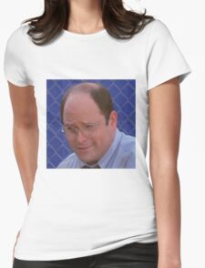 George Costanza Womens Fitted T-Shirt
