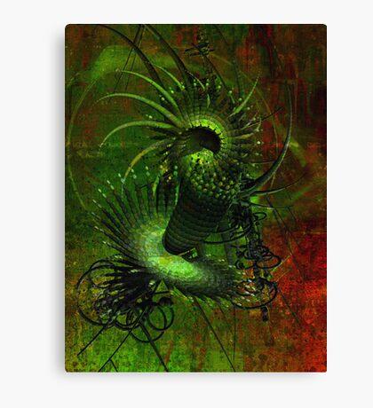 Matrix style Canvas Print