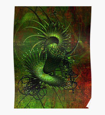 Matrix style Poster