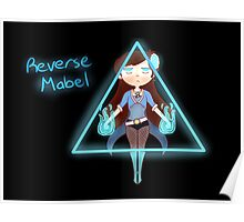 Rev!Mabel (Blue with Text) Poster