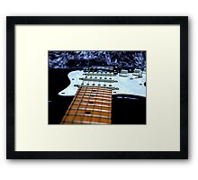 Legendary guitar Framed Print