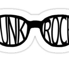 Punk Rock Sunglasses Sticker