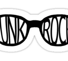 Punk Rock Sunglasses Sticker
