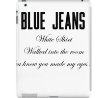 Blue Jeans iPad Case/Skin