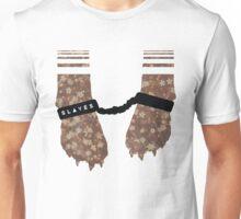 Slaves Cuffed Fox Paws Unisex T-Shirt