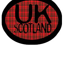 uk scotland greeting card logo by ian rogers by ukscotland