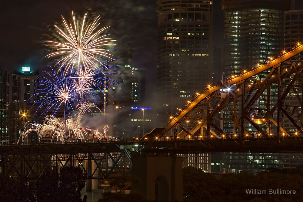 Happy New Year • Brisbane • Queensland by William Bullimore