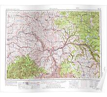 USGS Topo Map Washington Pullman 243316 1955 250000 Poster