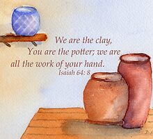 The Creative Potter- Isaiah 64:8 by Diane Hall