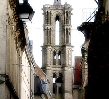 Laon Cathedral  by Linda More