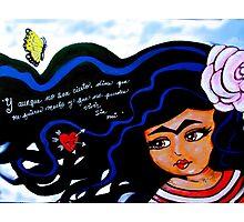 Frida / Mienteme / Lie to Me Photographic Print