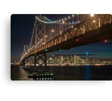 The San Francisco Bay Bridge Canvas Print