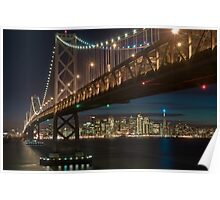The San Francisco Bay Bridge Poster