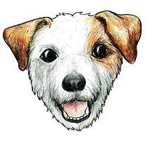 Jack Russell Terrier by zauxie