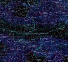 USGS Topo Map Oregon Canyon City 283310 1955 250000 Inverted Sticker