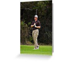 Ernie Els - Fairway shot - NGC2010 Greeting Card