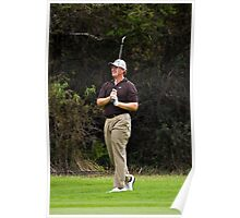 Ernie Els - Fairway shot - NGC2010 Poster