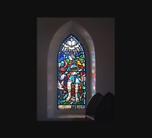 Stained Glass Window - St Andrew's Anglican Church - Jerangle, NSW Unisex T-Shirt