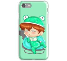baby frog iPhone Case/Skin