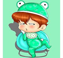 baby frog Photographic Print