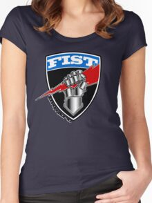FIST Women's Fitted Scoop T-Shirt