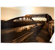 Mitre Bridge, West London Poster