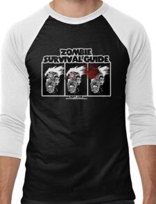 Zombie Survival Guide Men's Baseball ¾ T-Shirt