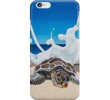 Honu Beach Splash iPhone Case/Skin