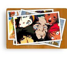 cowboy bebop spike faye jet ed pictures anime manga shirt Canvas Print