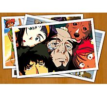 cowboy bebop spike faye jet ed pictures anime manga shirt Photographic Print
