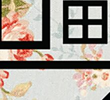 The Neighbourhood (Floral Background) Sticker