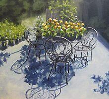 Flower Feast by Karen Ilari