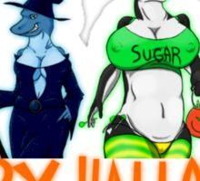 Halloween Night With The Girls Sticker
