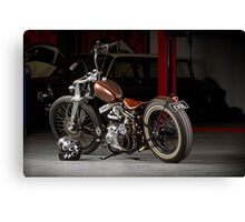 Evolution 1940 WL Harley Canvas Print