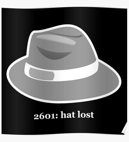 2601: Hat Lost Poster