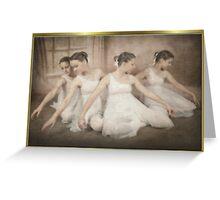 dancers art Greeting Card