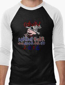 Calvin for Supreme Leader 2016 Men's Baseball ¾ T-Shirt