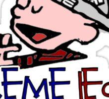 Calvin for Supreme Leader 2016 Sticker