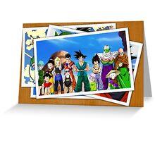 dragon ball z goku vegeta pictures anime manga shirt Greeting Card