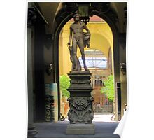 Copy of the Statue of David-Florence Poster